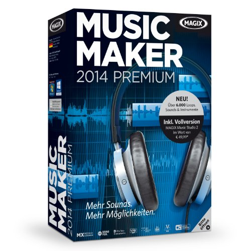 MAGIX Music Maker 2014 Premium (Audio Unbegrenzte Power)