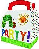 Raupe Nimmersatt 6er Set Partyboxen, Papier, Mehrfarbig 30 x 23 x 2 cm, 6-Einheiten