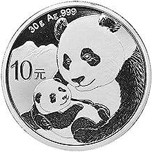 2019 China Panda moneda de plata con cápsula de moneda nueva llegada.