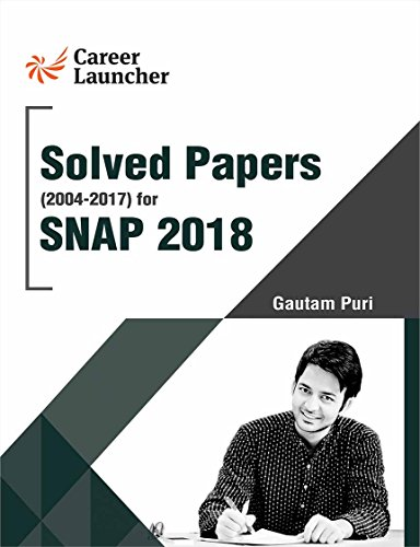 SNAP 2018 (Solved Papers 2004-2017)