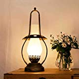 HYLR Chinesische Stil Retro Tischlampe Alte Stil Kerosin Lampe Pferd Lampe Modellierung Schlafzimmer Study Schreibtisch Lampe Dekorative Lampen Urlaub Geschenke