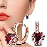 Damen Ohrringe Schmuck Ohrstecker Stecker DAY.LIN Einfache Mode Diamant Ohrstecker Ohrringe Frauen Schmuck (A)
