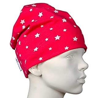 JNY Colourful Kids Baby Girls' Starred Hat Red Red