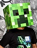 Minecraft Creeper Head Karton-Maske