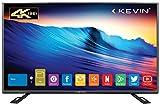 Kevin 140 cm (55 inches) 4K Ultra HD Smart LED TV KN55UHD (Black)