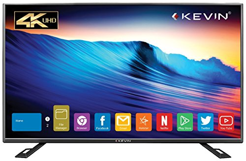 Kevin 140 cm (55 inches) 4K Ultra HD Smart LED TV KN55UHD (Black) 602d4e4c33c3