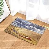 YYAANNGG Altopiano di Loess con Piccole nubi lacustri Tappeto Bagno Antiscivolo Tappetino per Soggiorno Accessori per Il Bagno Tappeto per Bambini 40x60cm