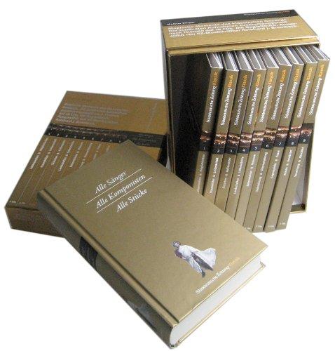 Preisvergleich Produktbild Meister Singer,  Magische Momente des klassischen Gesangs,  18 Audio-CDs + Begleitbuch