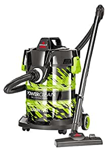Bissell Premium Power Clean Professional 2026E 21-Litre Wet and Dry Canister Vacuum Cleaner (Black)