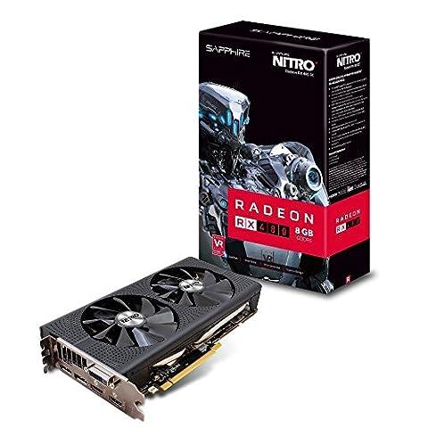 Sapphire AMD RX480 Nitro+ 8 GB GDDR5 Memory Polaris FinFET