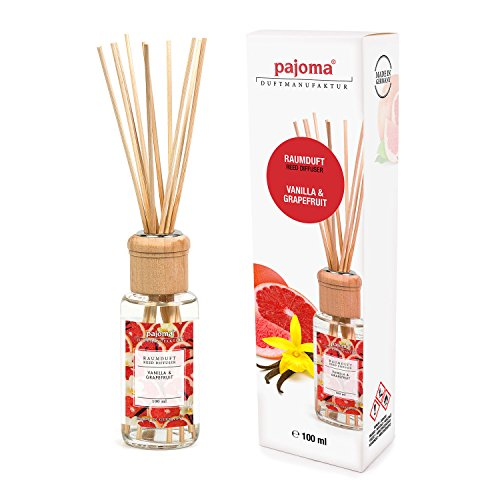 pajoma Raumduft Vanilla & Grapefruit, 1er Pack (1 x 100 ml) in Geschenkverpackung