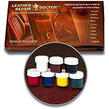 Kit de reparación de piel: 7, color no-heat, secado rápido,
