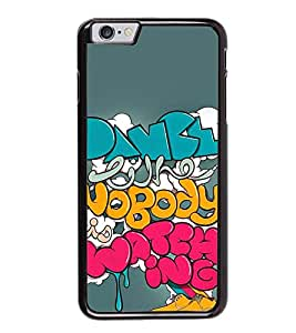 Fuson Designer Back Case Cover for Apple iPhone 6 (India Indian Font Caligraphy Universe)