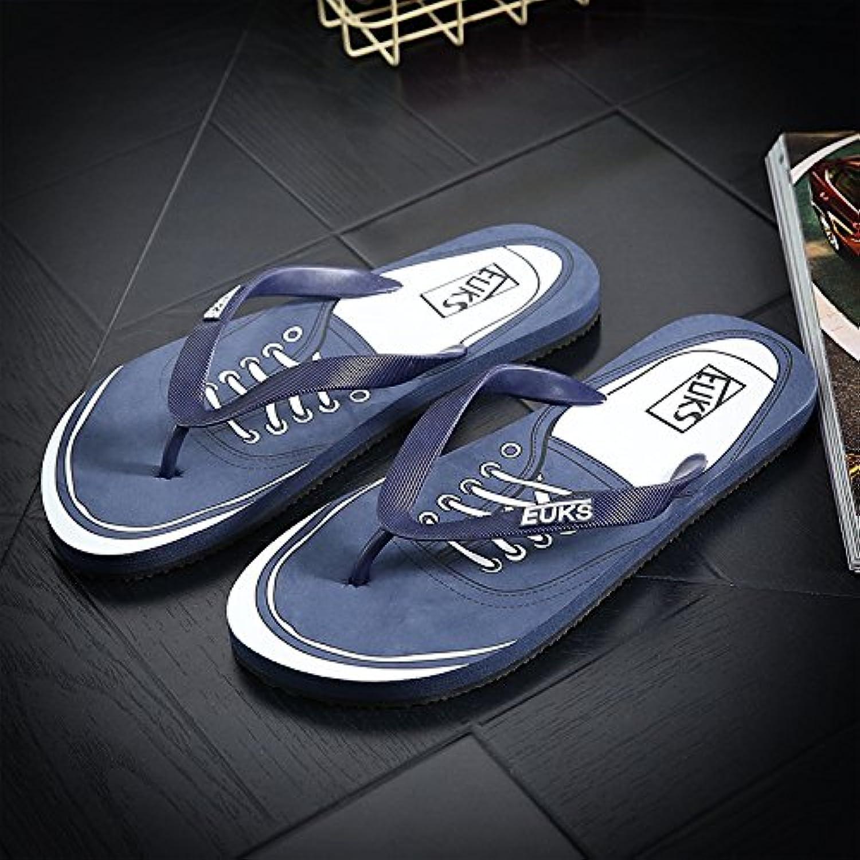 Xing Lin Sandalias De Hombre Flip-Flops Moda Hombre Sandalias De Playa Y Zapatillas Impermeables Baño Antideslizante