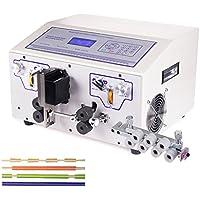 hanchen instrumento ew-03b ordenador Cable automático pelacables herramienta cortador de alambre de cobre para máquina pelar/pelacables de corte para alambre de PVC/teflón/trenzado/fibra de vidrio 0,1–8.0mm²