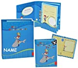 Unbekannt 2 tlg. Set: Ringbuch / Sammelordner  Meine Kindergartenzeit  - incl. Namen - Album + Freundebuch - Kindergarten / Dokumente A4 - Pirat Freunde - Ordner als ..
