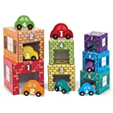 Nesting and Sorting Garages and Cars: Classic Toys - Blocks