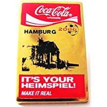 Coca Cola - WM 2006 - Hamburg - It´s your Heimspiel - Pin 40 x 26 mm