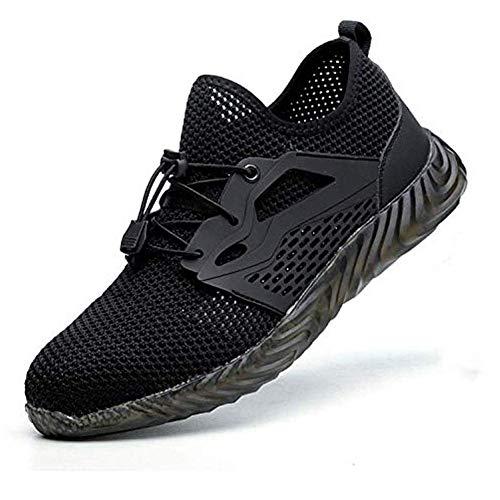chuhe, Arbeitsschuhe für Herren Stahl Zeh Turnschuhe Leichtgewicht Arbeitsschuhe Frauen Atmungsaktive Industrie- Sneaker - 41 ()