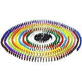 Juguetes Juegos Mesas Dominó Colores Establecidos Auténticos Madera Estandard Diversión - 100pcs