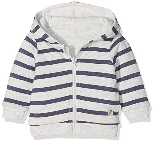 TOM TAILOR Kids Baby-Jungen Kapuzenpullover Padded Reversible Jacket, Grau (Original 1000), 92