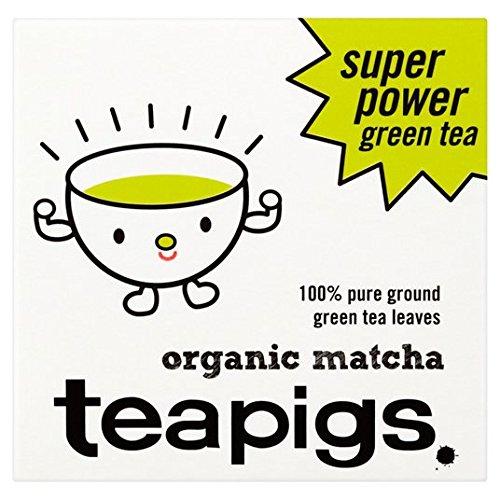30g teapigs Orgánica Polvo Matcha
