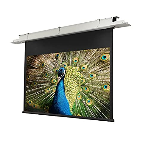 celexon ceiling recessed electric screen Expert 180 x 112 cm   Format 16:10   Gain 1,2 - ideal for home cinema or presentations   High quality surface   Ceiling or wall