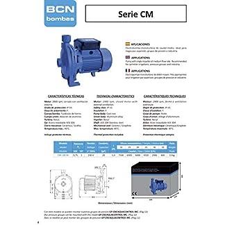 BCN bombas – Bomba de agua monoturbina cm-100 M (Monofásica)