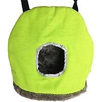 Kicode Moda Amortiguador del animal doméstico cama Bird Mat caliente Soft Pad dormir Nido Ronda de decoración de la casa S / M Tamaño