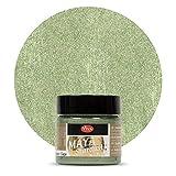 Maya Stardust 45ml (Salbei) - - - Glanz-Farbe, Metallic-Farben, Acryl-Metallic, Metallica-Farben, Acryl Beton-Farbe, wetterfest von Viva-Decor
