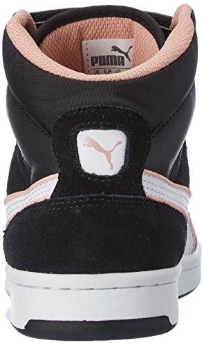 Puma - Puma Rebound Street Sd, Alte Scarpe Da Ginnastica, unisex, nero (black-white-coral cloud pink 14), 44.5