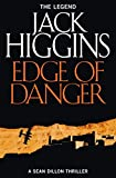 Front cover for the book Edge of Danger by Jack Higgins