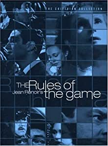Criterion Collection: Rules of Game [Import USA Zone 1]