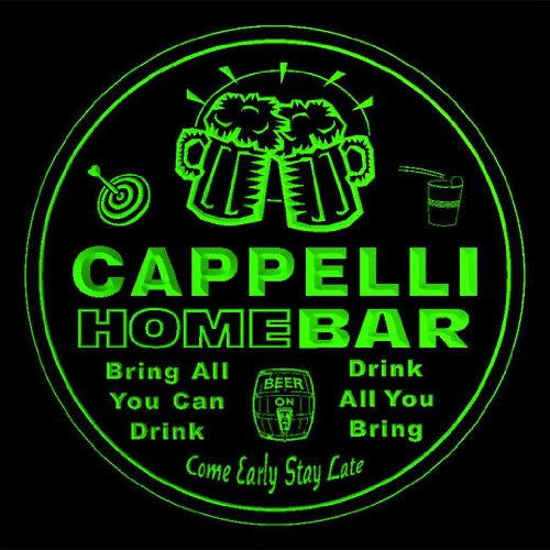 4x-ccq06899-g-cappelli-family-name-home-bar-pub-beer-club-gift-3d-coasters