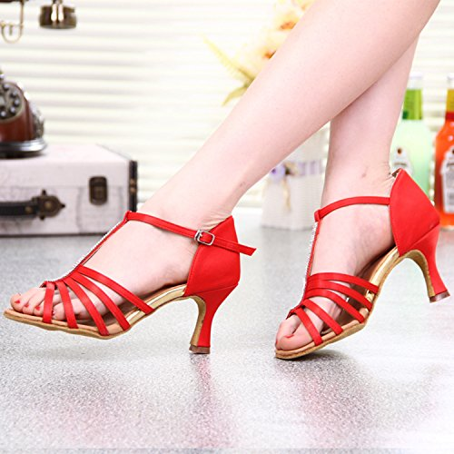 Miyoopark - Ballroom donna Red-7.5cm Heel