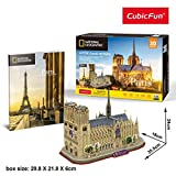 Cubic Fun- Puzzle 3D Notre Dame