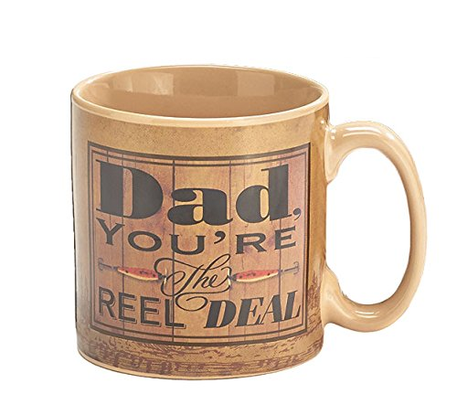 Dad, You 're the Reel Deal Tasse Vater 's Day
