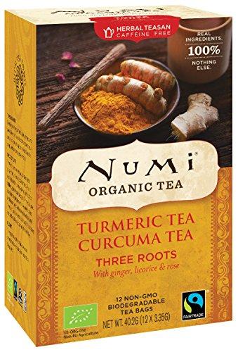 Numi Tea (TURMERIC TEA) Three Roots 12ct x 40.2g