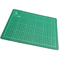 Tapete de corte antiadherente, con guías para cortes precisos, diseño neotérico (220 x 300 mm, 3 mm grosor), A4, pack de 1