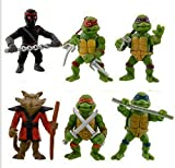 Tortugas Ninja Donatello Raphael Michel Angelo Leonardo Splinter y Shredder 4311