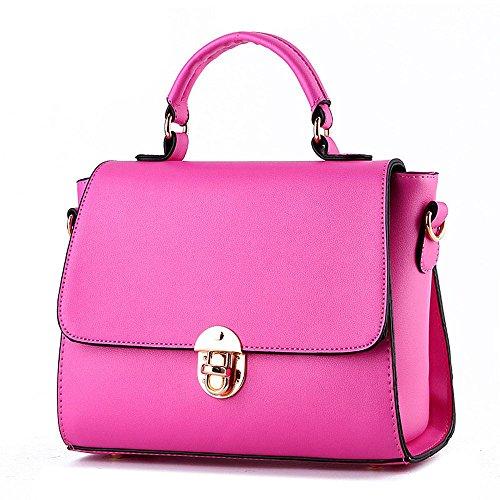 koson-man-womens-pu-leather-vintage-beauty-buckle-tote-bags-top-handle-handbagrosered