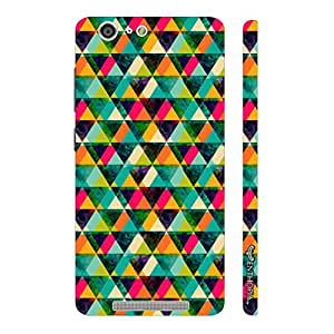 Enthopia Designer Hardshell Case Twisty Tangles Back Cover for Gionee Marathon M5