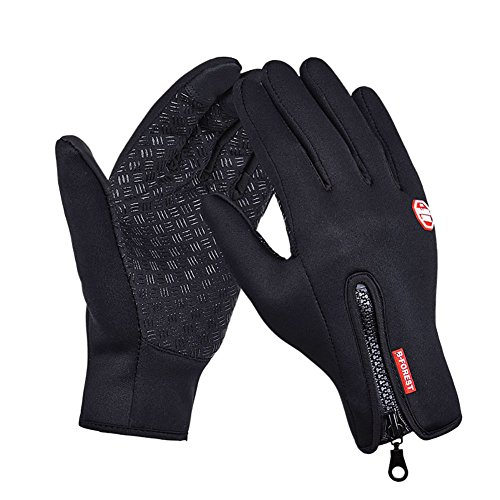 Wingogo Touch Screen Gloves Winter Outdoor Sports Full Finger Gloves for Skiing Hiking Cycling Driving Riding
