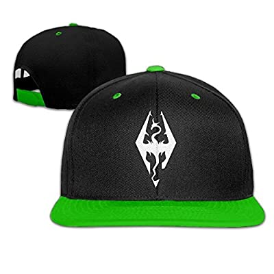 Hittings Comfortable Skyrim Imperial Symbol Bethesda Game Studios Snapback Hat KellyGreen