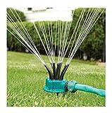 Lalang Kunststoff 360 Grad Rotierende Gartensprenger duesen garten schlauch wasser sprinkler bewaesserung pflanzen Garten Rasen Spray Sprinkler