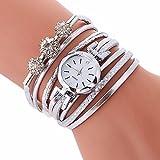 Piel de pulsera de reloj de mujeres de mujer de cuarzo Top Brand Fashion Luxury imitación Leather Bracelet Watch Women Ladies Quartz Watch Casual Wrist Watch