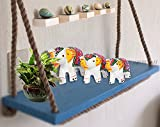 #10: Jaipuri Haat Handicrafted set of 3 showpiece Elephant for decoration and Gift purpose (9X7Cm ,7X 5Cm ,6X 4 Cm)