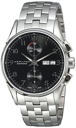 Hamilton Men's H32576135 Jazzmaster Analog Display Automatic Self Wind Silver Watch