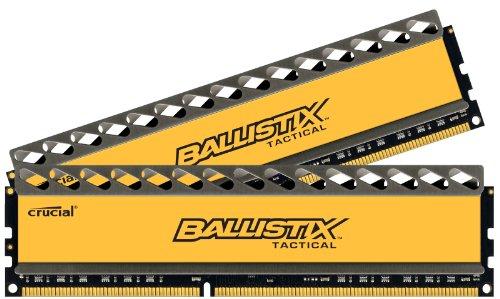 Crucial Ballistix Tactical 16gb 240-pin Dimm Ddr3 1600 Pc3 12800 Desktop Memory Blt2kit8g3d1608dt1tx0