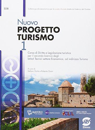Nuovo progetto turismo. Per le Scuole superiori. Con e-book. Con espansione online: 1